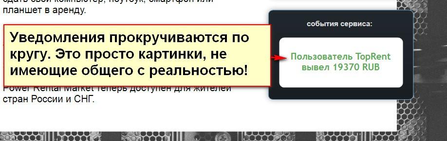 Авторский способ Дмитрия Белова, Power Rental Market
