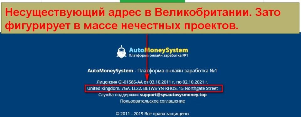 AutoMoneySystem, платформа онлайн заработка №1