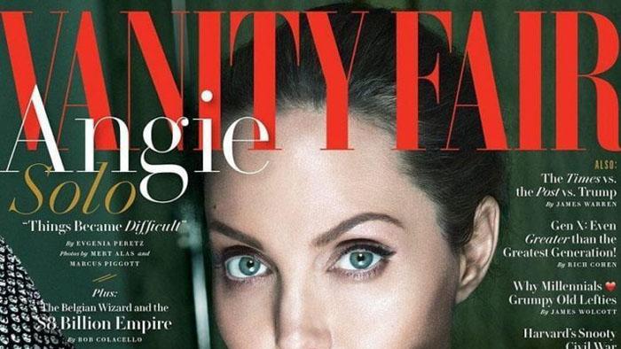 Angela Jolie. The Vanity Fair article