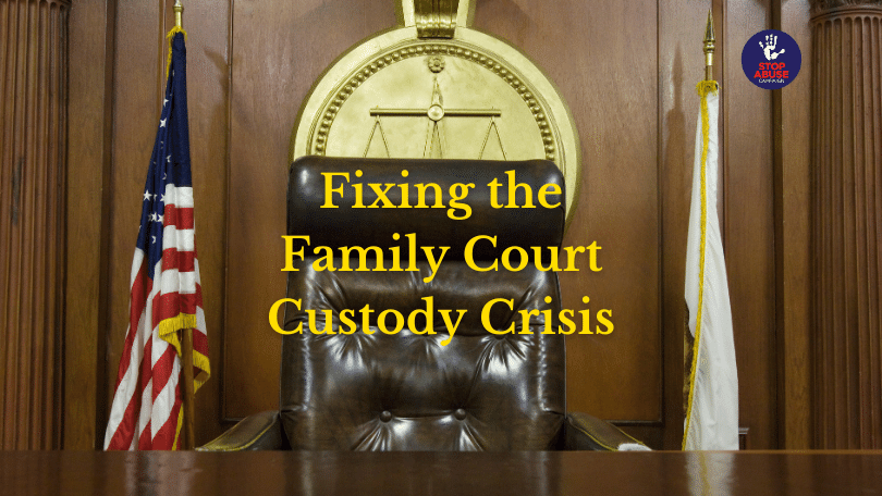 Learn about fixing the family court crisis