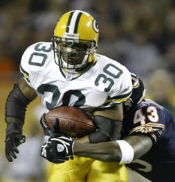 Former Packers RB Ahman Green jailed on child abuse claim