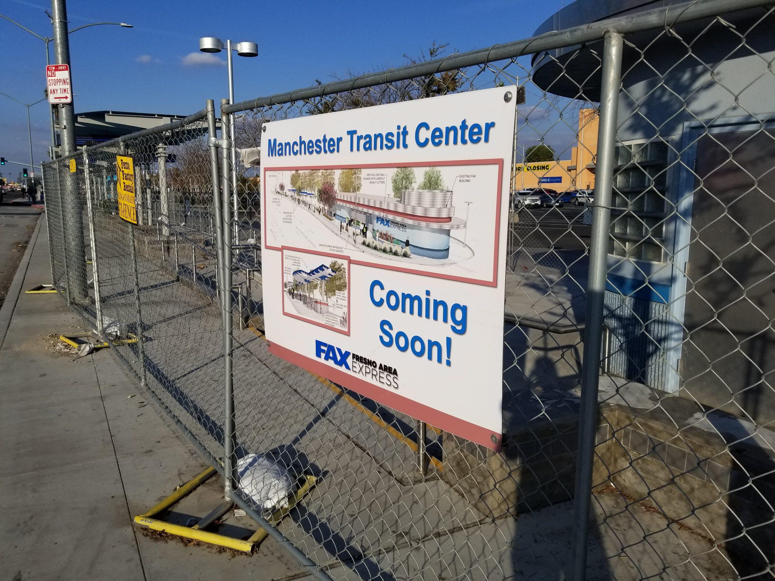 It S Taken Fresno Over 3 Years To Rebuild A Bus Stop
