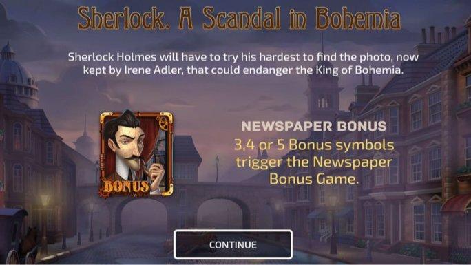 sherlock-a-scandal-in-bohemia-slot-rules