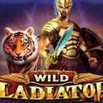 wild gladiators slot logo