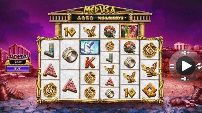 medusa megaways slot gameplay