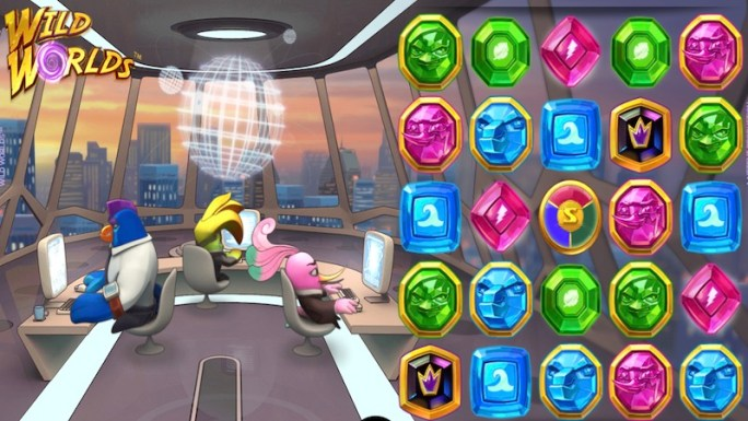 wild worlds slot gameplay