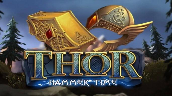 thor hammer time slot logo