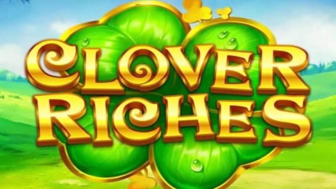 clover riches slot logo