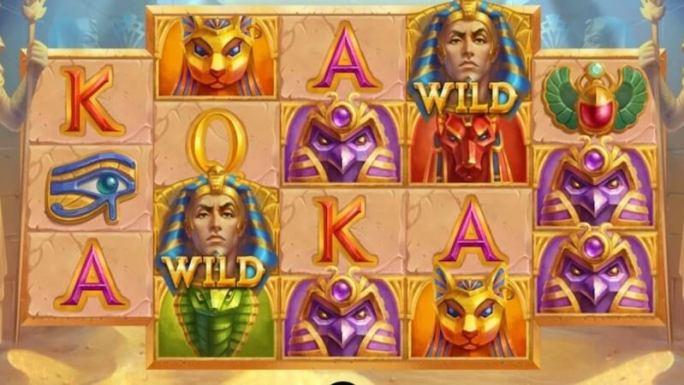 egyptian king slot gameplay