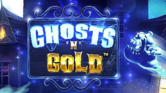 ghosts n gold slot logo