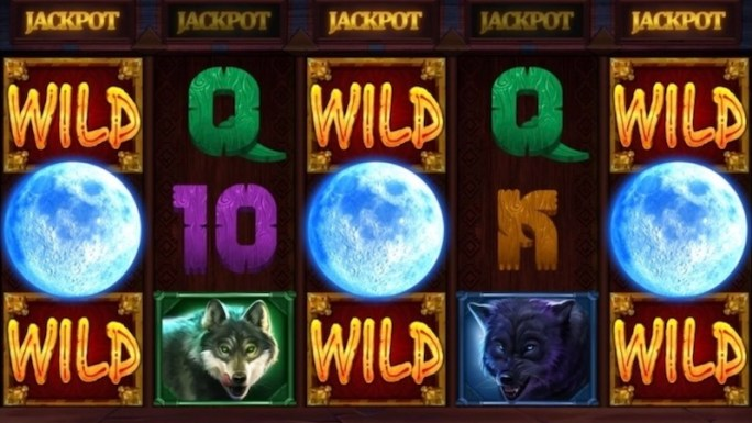 wolf riches slot gameplay