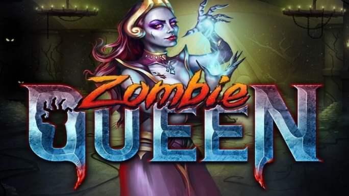 zombie queen slot logo