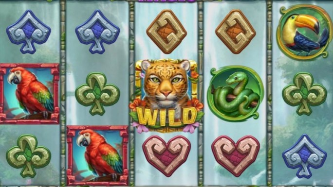 rainforest magic slot gameplay