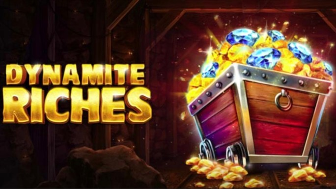 dynamite riches slot logo