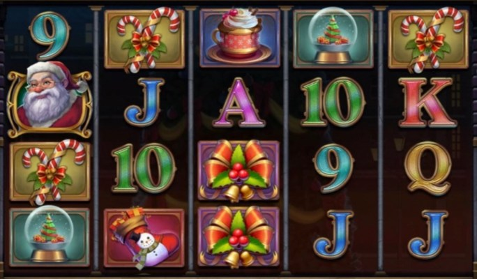 xmas magic slot gameplay