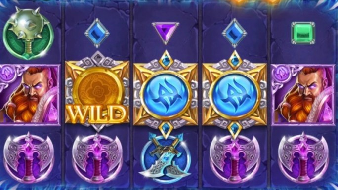 kingdoms rise reign of ice slot gameplay
