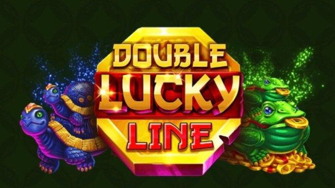 double lucky line slot logo