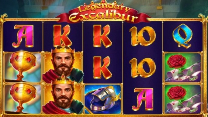legendary excalibur slot gameplay