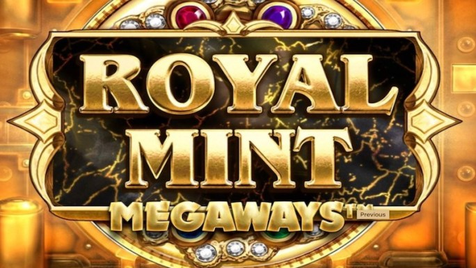 royal mint megaways slot logo