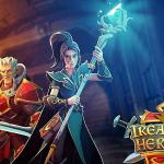 treasure heroes slot logo