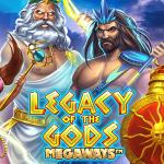 legacy of the gods megaways slot logo