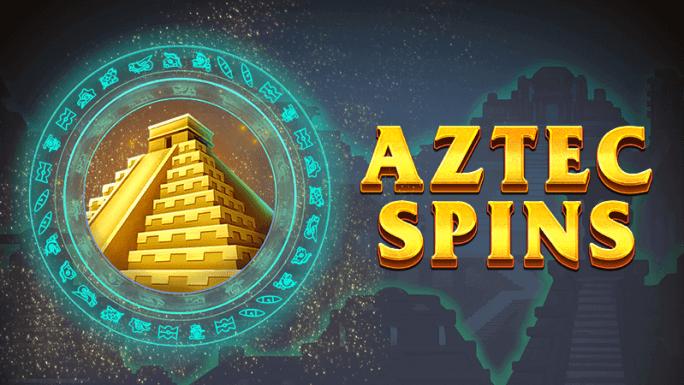 aztec spins slot logo