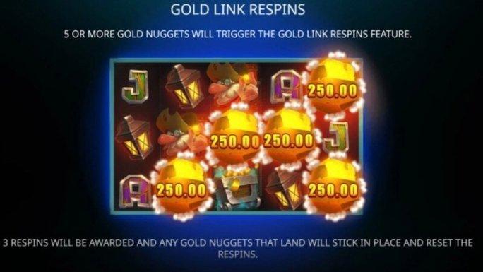 gold digger slot rules