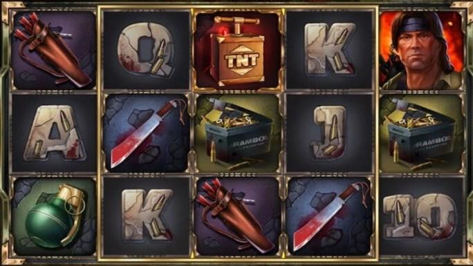 rambo slot gameplay