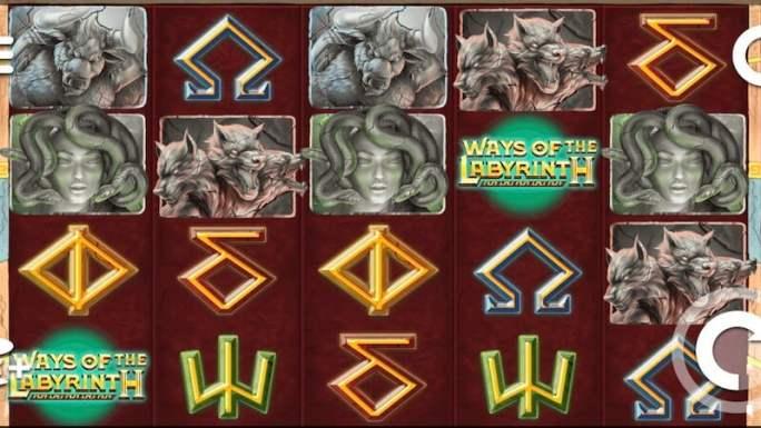 ways of labyrinth slot gameplay