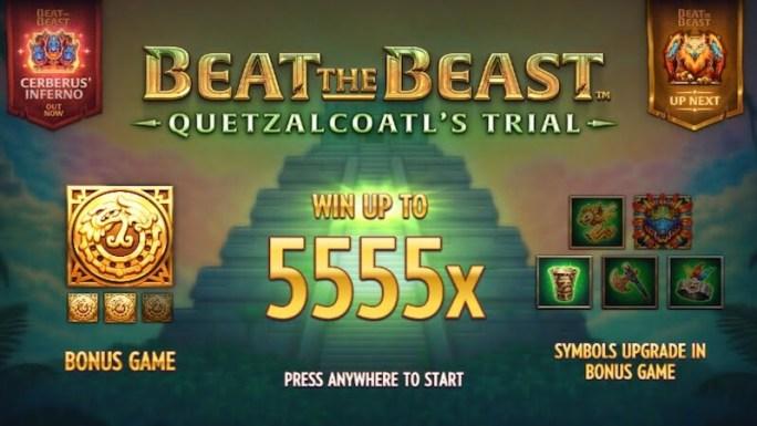 beat the beast quetzalcoatl slot rules