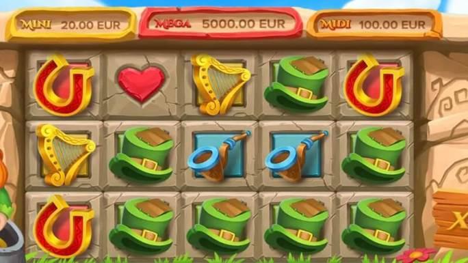 irish pot luck slot gameplay
