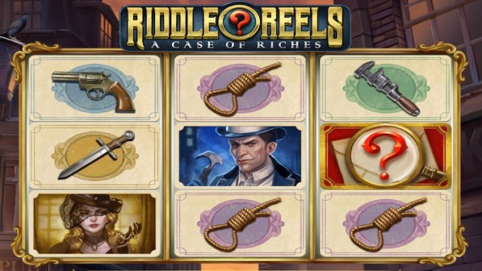 riddle reels slot gameplay