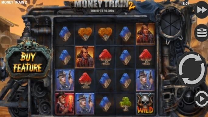 money train 2 slot gameplay