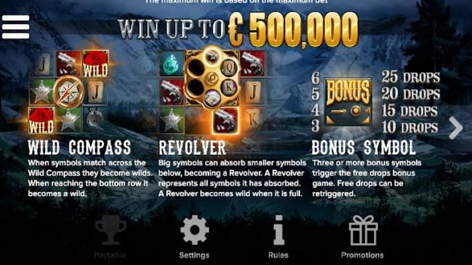 black river gold slot rules