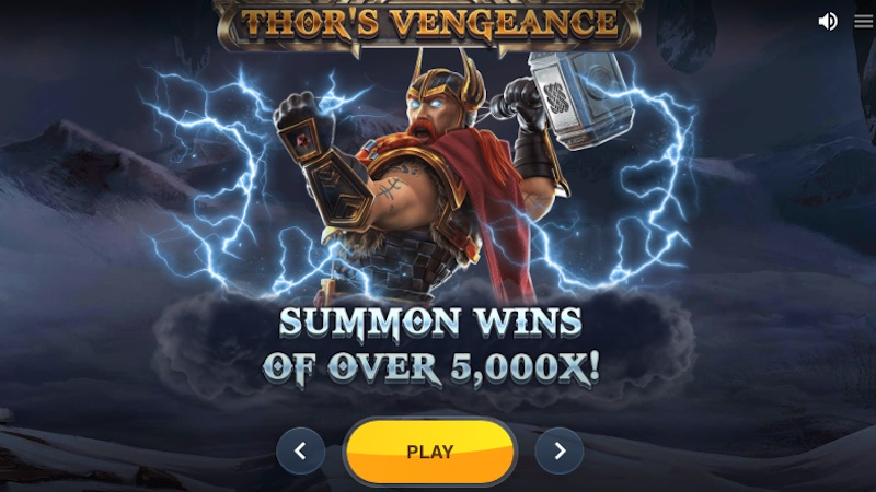 thors vengeance slot rules