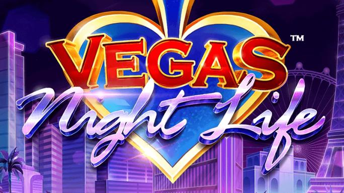 vegas night life slot logo