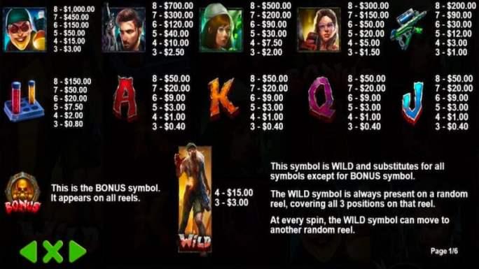 wild walker slot rules