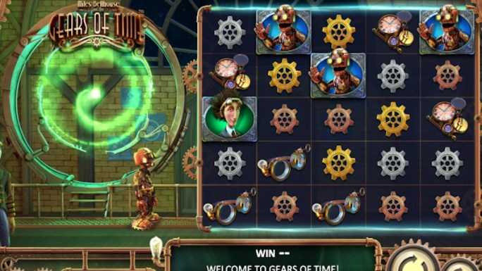 gears of time slot gameplay