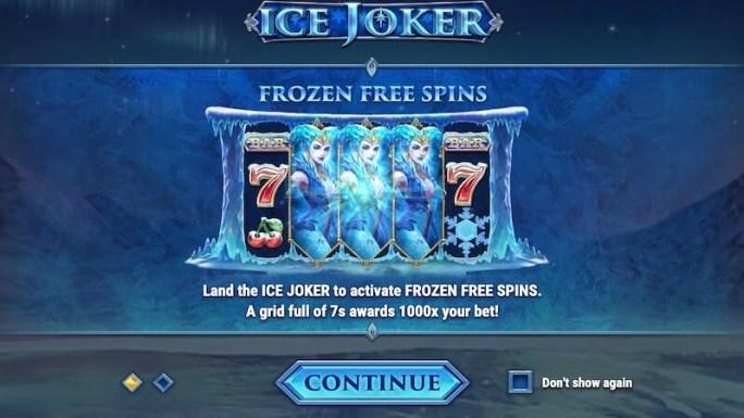 ice joker slot rules
