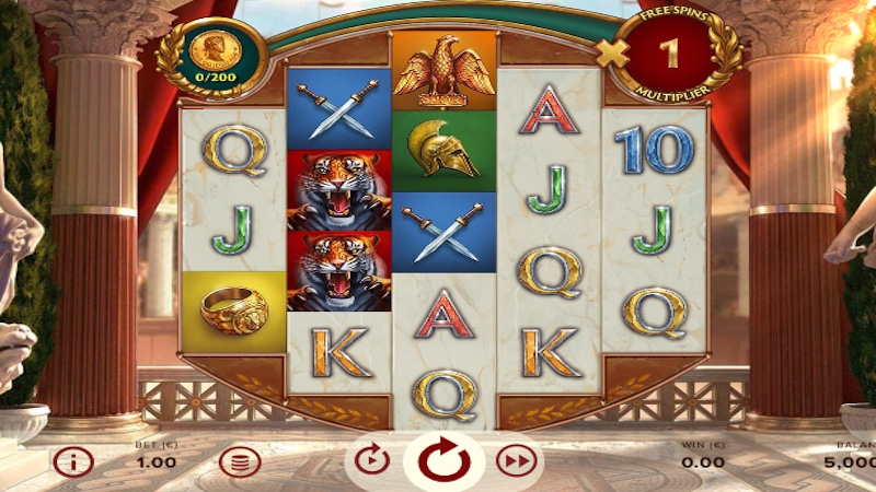 rome the golden age slot gameplay