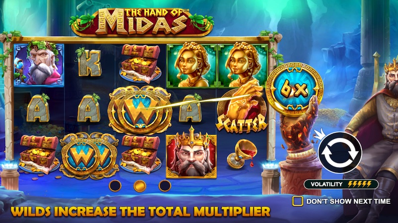 the hand of midas slot rules
