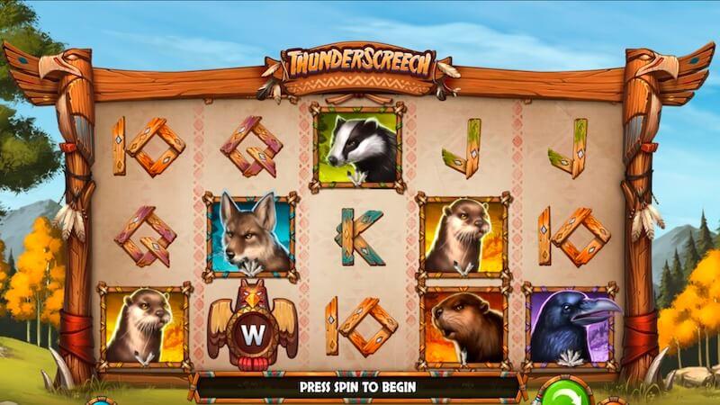 thunder screech slot gameplay