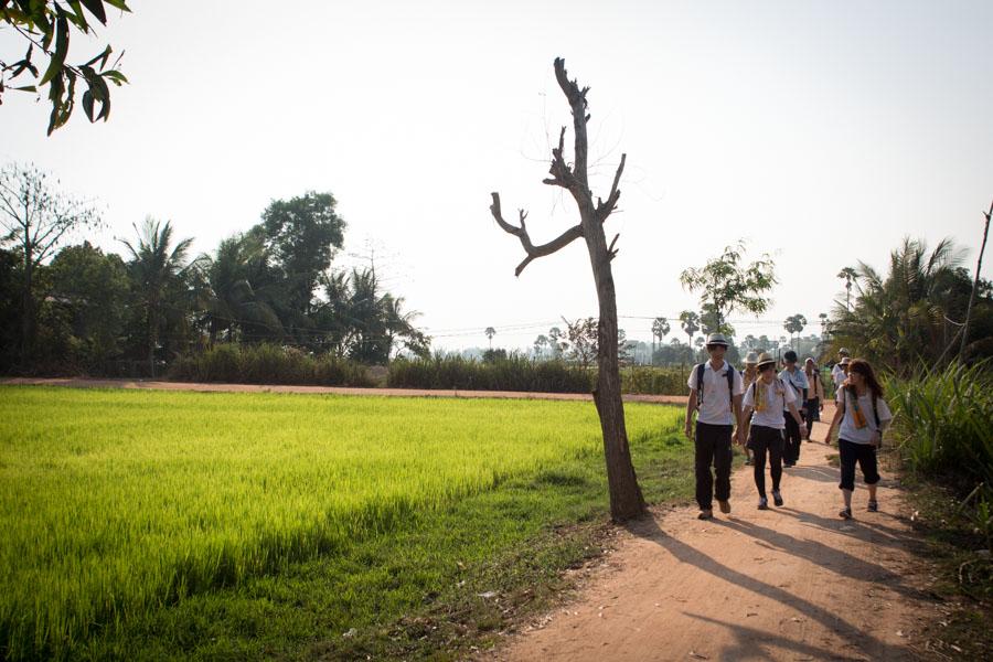 古代高棉村的料理學習之旅