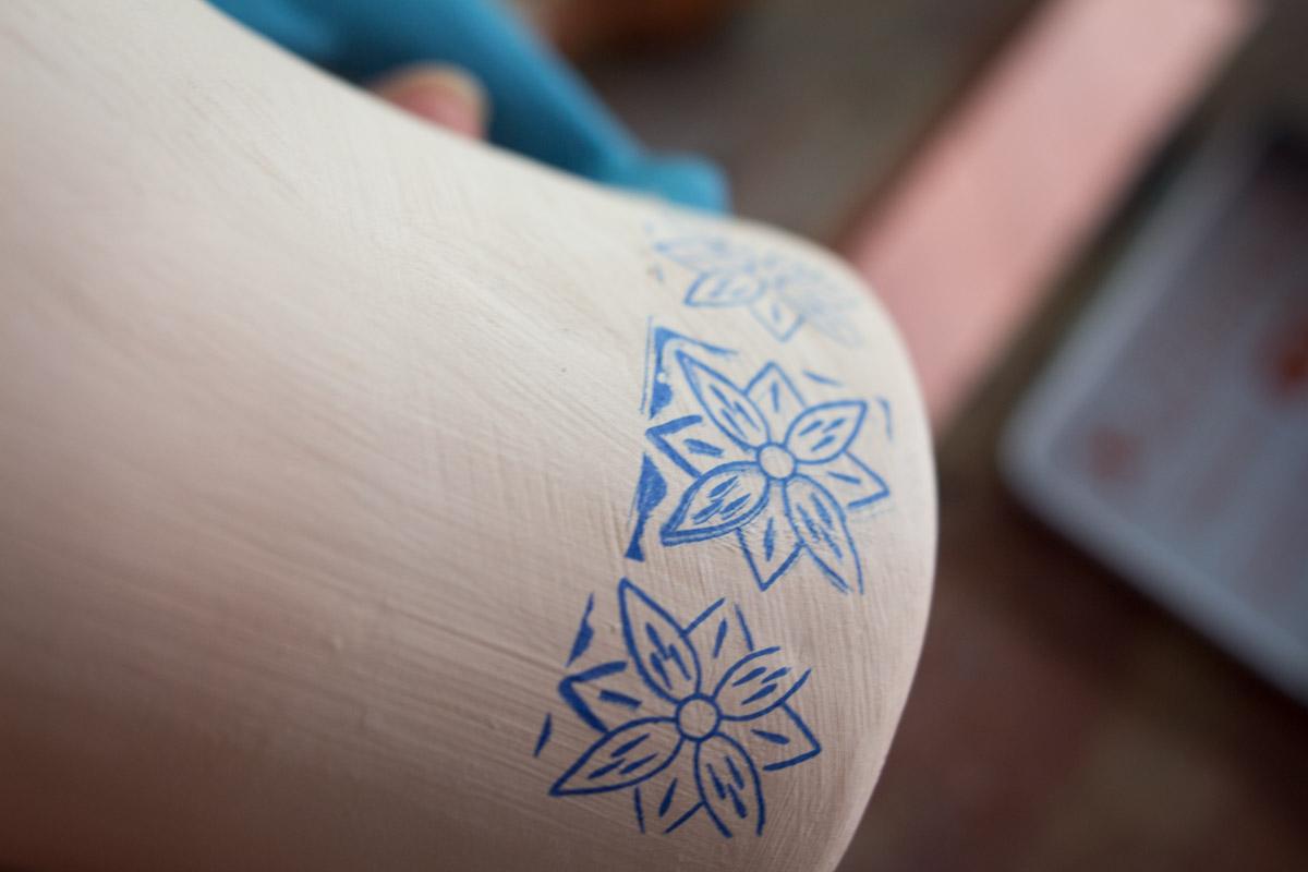 浪漫陶藝與彩繪瓷杯
