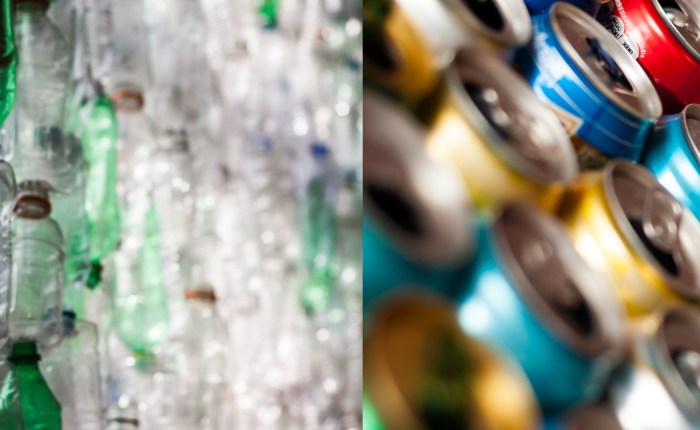 The importance of recycling plastic and metal