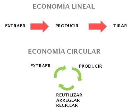 Economia circular y lineal