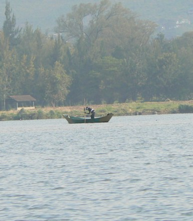Fishing on Lake Victoria