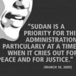 Obama: Please Don't be MIA on Sudan
