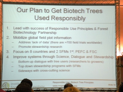 EU Decision Process Hinders Use of Genetically Modified Trees?