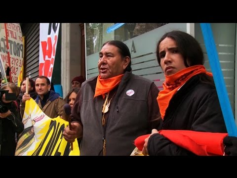 WATCH: Tom and Dallas Goldtooth on Paris 'Police State' and the Realities Frontline Communities Face